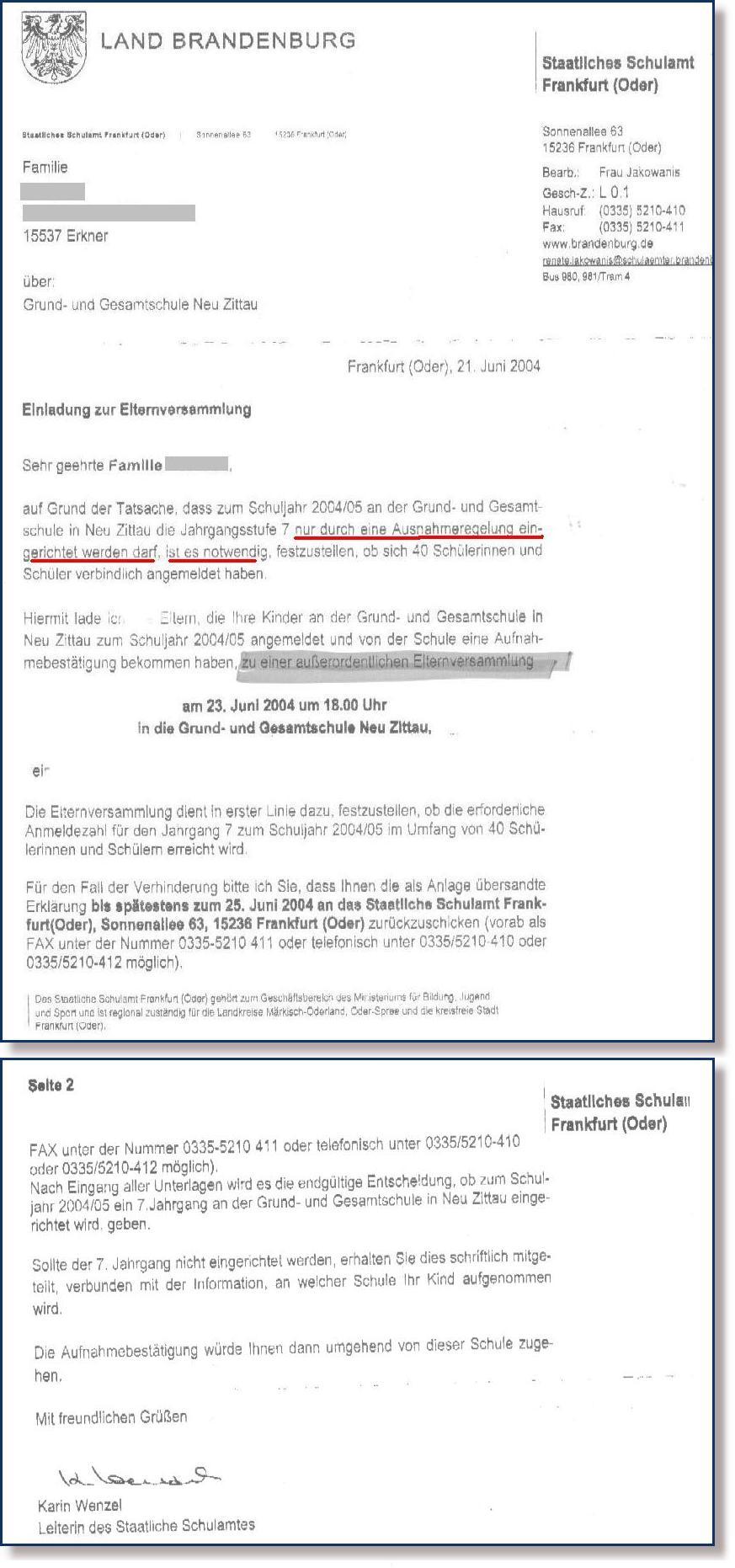 staatschulamt20040621, Einladung